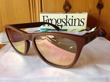 NEW Oakley Limited Edition Frogskins - Basin Red / Pink Iridium, 24-342