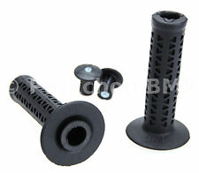 AME old school BMX Unitron 702 single ply bicycle grips BLACK *MADE IN USA* NEW