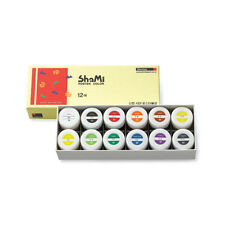Opaque Watercolor Paint Shinhan Shami Poster Color 20ml 12 Color for Student