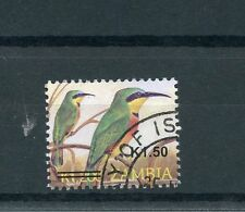 Zambia 2014 CTO Birds Overprint OVPT 1v Set