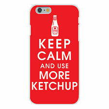 Keep Calm and Use More Ketchup Bottle FITS iPhone 6+ Plastic Snap On Case Cover