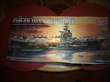 Academy Models U.S.S. EISENHOWER CVN-69 Aircraft Carrier ,1/800 scale