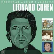 Original Album Classics - BOX [3 CD] - Leonard Cohen COLUMBIA