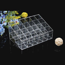 Clear Acrylic 24 Lipstick Holder Display Stand Cosmetic Organizer Makeup Case WP