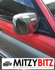 MITSUBISHI L200 K74 96-06 OSF DRIVERS FRONT CHROME WING MIRROR