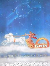 1946 French Advertising for Zenith & Perfumes