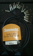 "Sweetwater 8-Channel Snake Cable 1/4"" TRS Male to 1/4"" Male, 10' Long MT8BQBQ-10"