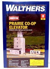 N Scale Walthers Cornerstone 933-3860 Prairie Co-Op Elevator Building Kit