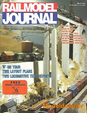 Railmodel Journal Mar.91 Brick Trees Grand Isle Wooden Creamery B&O Alco S4 NYC