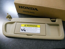 2006-2008 GENUINE HONDA CIVIC DRIVER SIDE PEARL IVORY TAN SUN VISOR YR327L