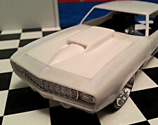 LEX'S SCALE MODELING Resin Stinger Hood for '69 Camaro Z/28, RS Revell.  NEW!