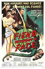 Fiend Without Face Poster 01 Metal Sign A4 12x8 Aluminium