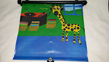 Car Side Window Sun Shade Roller Safety Giraffe