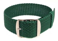 Perlon Braided  Watch Strap MANY colours 18mm 20mm 22mm