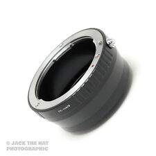 Pro Pentax K to Micro 4/3rds Lens Adapter Ring. PK to Micro 4/3 Mount Adaptor.