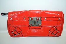 JUICY COUTURE Studded Patent Leather Clutch