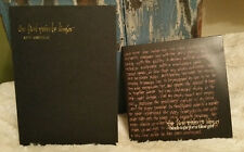 BLACK TAPE FOR A BLUE GIRL - The  First Pain To Linger CD and BOOK Sam Rosenthal