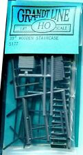 HO SCALE:  GRANDT LINE 5177:  39 DEGREE WOODEN STAIRCASE
