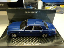Minichamps 1/43 Bentley Arnage T blue metallic