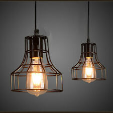 Chandelier Ceiling Pendant Light Vintage Industrial Loft Lamps Fixture Lighting