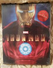 Marvel IRON MAN Blu-Ray KIMCHIDVD Korea Exclusive Lenticular Slip STEELBOOK