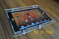 iPad mini Clear Acrylic Security Vesa Case for Pos, Kiosk, Store Display, Square