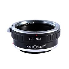 EOS EF Lens to for Sony NEX-7 6 5R 5N F5 E-mount Camera EOS-NEX Adapter Ring