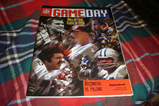 1996 Tampa Bay Buccaneers VS. Atlanta Falcons NFL Game Day Program