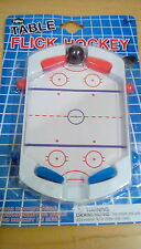 NEW Toy Table Flick Flip Hockey, pinball style spring loaded paddles