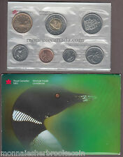 2000 W CANADA BRILLIANT UNCIRCULATED SET - 7 Coins Set - B813