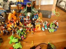 Rescue Heroes Lot of 40 pieces  Includes 19 characters  1 ea four piece structur