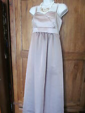 vintage style mink and cream ball gown/prom/wedding/bridesmaid sie 10
