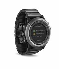 Garmin Fenix 3 Sapphire with Metal & Black Band Refurbished
