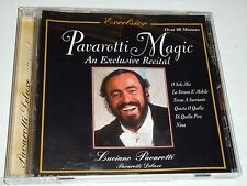 CD Pavarotti Magic: An Exclusive Recital (1997 St.Clair Music, Canada)