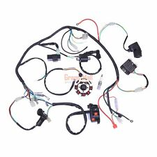 150-250-300CC MOTOR ENGINE ELECTRICS 4 STROKE QUAD ATV WIRING HARNESS CDI STATOR