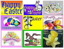 HAPPY EASTER PHOTO-FRIDGE MAGNETS, 9 IMAGES
