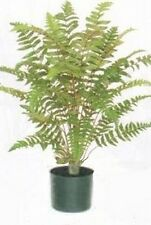 "FERN BUSH 36"" ARTIFICIAL PLANT SILK PALM TREE POT ARRANGEMENT FLOWER FLORAL 3'"