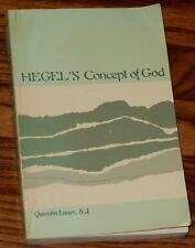 SUNY Series in Hegelian Studies Hegel's Concept of GOD by QUENTIN LAUER 1983 PB