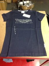 Triumph Ladies 'triumph' Logo Navy T-shirt XXS NEW