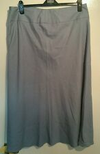 M & S collection ladies soft blue skirt size 10 new but tag ripped off