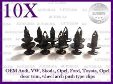 OEM AUDI VW OPEL FORD SKODA BUMPER GRILL WHEEL ARCH DOOR TRIM PUSH TYPE CLIPS 10