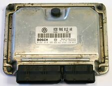 VW Polo 6N2 2001 ASD 1.9 SDI Diesel Engine Control Unit ECU 038 906 012 AR