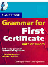 Grammar for First Certificate Self Study Pack Book with Answers and-ExLibrary