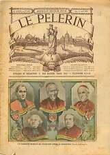 Cardinal Lecot,Coullié,Labouré,Richard,Perraud La Séparation  1905 ILLUSTRATION