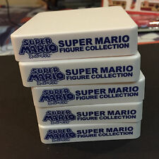 Banpresto Nintendo SUPER MARIO Figure Base Stand Set of 5