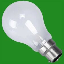 10x 60W STANDARD TUNGSTEN FILAMENT PEARL GLS DIMMABLE LIGHT BULB BC B22 BAYONET