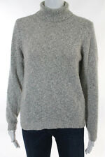 New Scotland Beige Speckled Long Sleeve Turtleneck Sweater Size L RB762