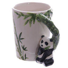 Panda with Bamboo Decal Ceramic Tea Coffee Soup Mug Office Home DecorationSMUG27