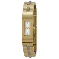 NEW DKNY BEEKMAN GOLD TONE+SILVER STITCHES, SMALL BRACELET WATCH NY2140