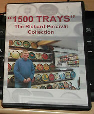 THE RICHARD PERCIVAL TRAY COLLECTION ON DVD..1136 TRAYS DISPLAYED.